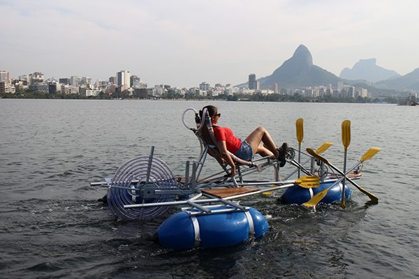 Waterbike - in action in Brasil 2015